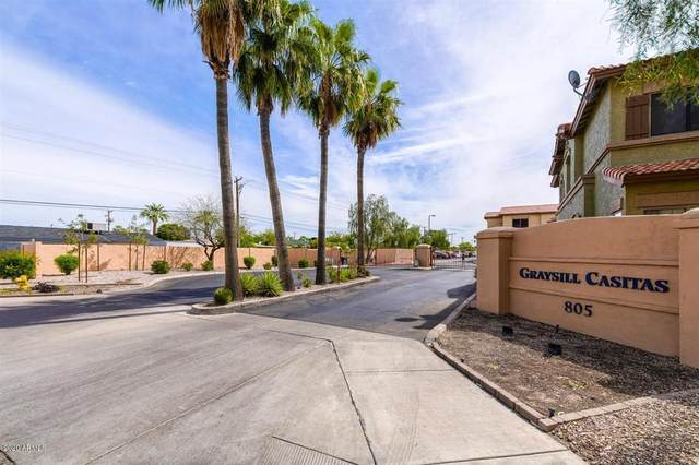 805 S Sycamore Avenue #216, Mesa, AZ 85202 (MLS #6076567) :: The Bill and Cindy Flowers Team