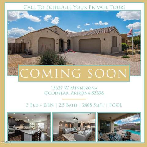 15637 W Minnezona Avenue, Goodyear, AZ 85395 (MLS #6076989) :: The Daniel Montez Real Estate Group
