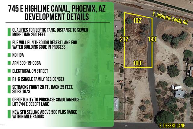 745 E Highline Canal Road, Phoenix, AZ 85042 (MLS #6079296) :: Midland Real Estate Alliance