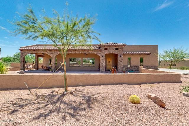 6755 E Diamondback Lane, Apache Junction, AZ 85119 (MLS #6080798) :: Brett Tanner Home Selling Team