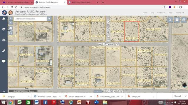 0 W Mcniel Street, Arlington, AZ 85322 (MLS #6081308) :: Howe Realty
