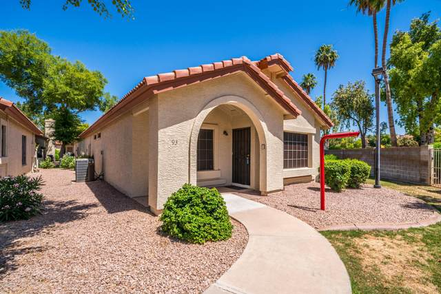 1120 N Val Vista Drive #93, Gilbert, AZ 85234 (MLS #6081667) :: Riddle Realty Group - Keller Williams Arizona Realty