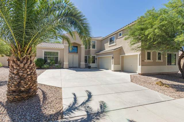 4161 S Kerby Way, Chandler, AZ 85249 (MLS #6082836) :: Kepple Real Estate Group