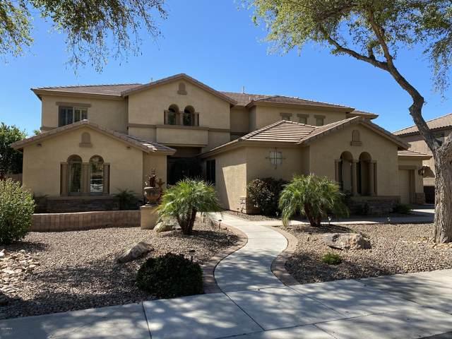 2187 E Libra Place, Chandler, AZ 85249 (MLS #6083828) :: The Daniel Montez Real Estate Group