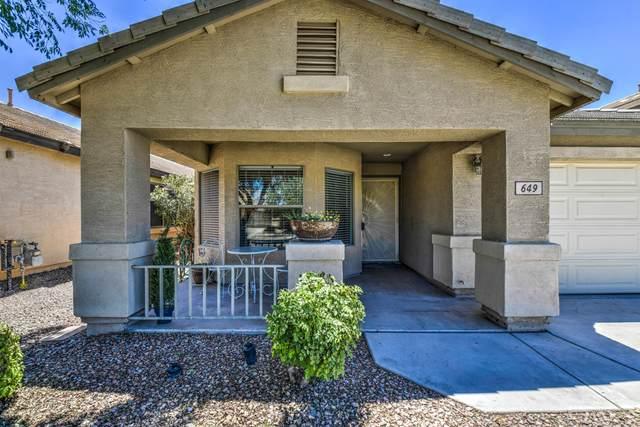 649 E Kelsi Avenue, San Tan Valley, AZ 85140 (MLS #6084609) :: My Home Group