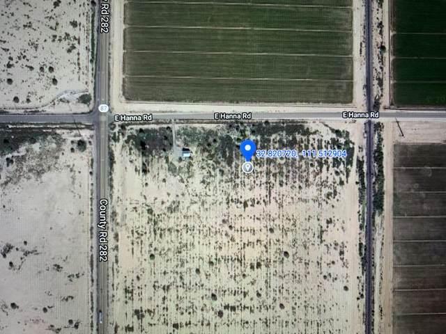 0 E Hannah Road, Eloy, AZ 85131 (MLS #6084793) :: Yost Realty Group at RE/MAX Casa Grande