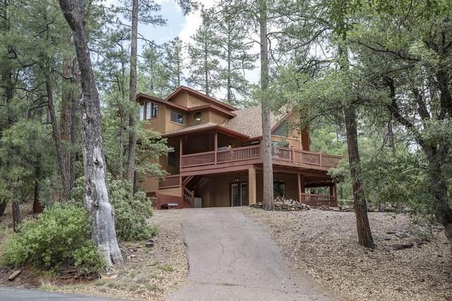 5109 N Hilltop Drive, Pine, AZ 85544 (MLS #6084965) :: Riddle Realty Group - Keller Williams Arizona Realty
