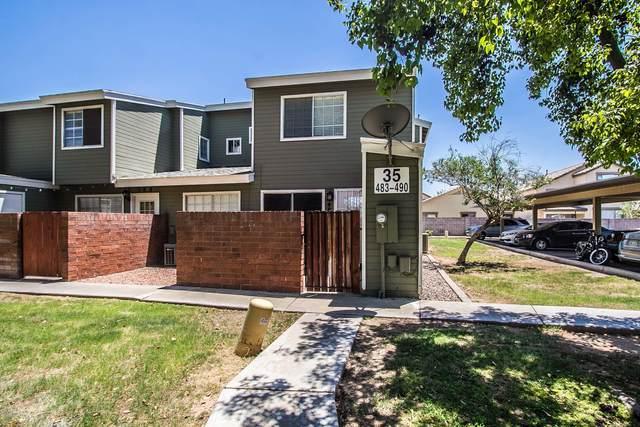 2301 E University Drive #487, Mesa, AZ 85213 (MLS #6086946) :: Brett Tanner Home Selling Team