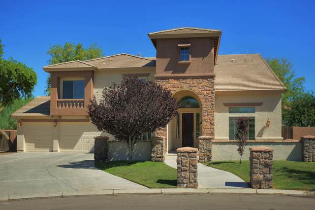 11518 E Chestnut Court, Chandler, AZ 85249 (MLS #6088870) :: The W Group