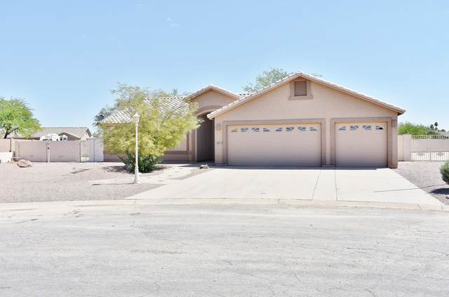 10910 W Malibu Circle, Arizona City, AZ 85123 (MLS #6089605) :: The Laughton Team