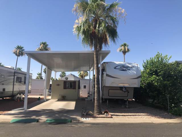 745 S Emerald Drive, Apache Junction, AZ 85119 (MLS #6090059) :: The Property Partners at eXp Realty