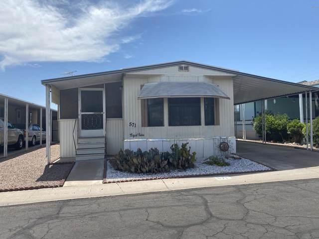 4065 E University Drive #571, Mesa, AZ 85205 (MLS #6090226) :: Conway Real Estate