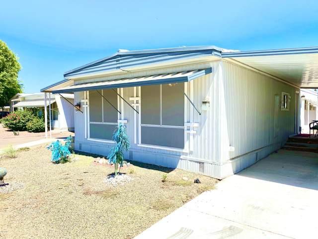 10701 N 99TH Avenue #133, Peoria, AZ 85345 (MLS #6092185) :: Brett Tanner Home Selling Team