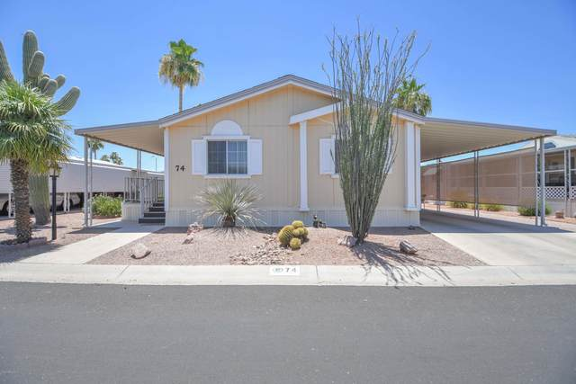 450 W Sunwest Drive #74, Casa Grande, AZ 85122 (MLS #6094382) :: Brett Tanner Home Selling Team
