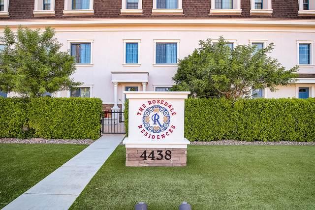 4438 N 27TH Street #8, Phoenix, AZ 85016 (MLS #6094985) :: Dave Fernandez Team | HomeSmart