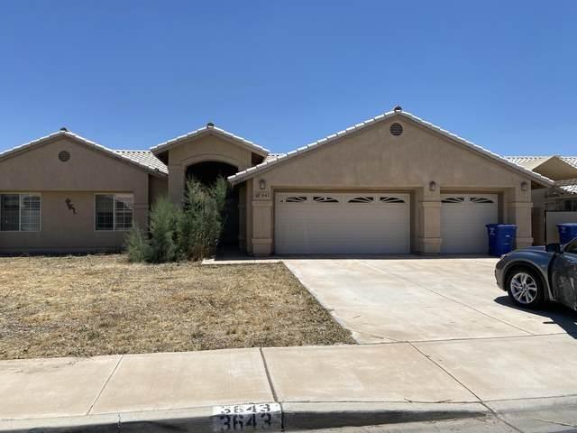 3643 W 26TH Place, Yuma, AZ 85364 (MLS #6095204) :: Klaus Team Real Estate Solutions