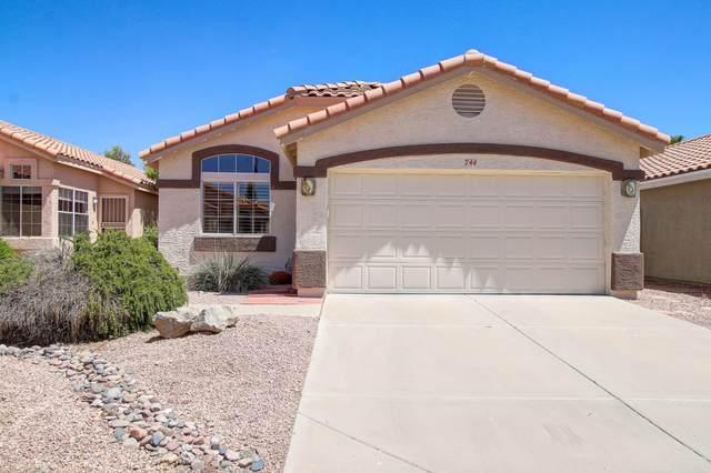 744 E Glenhaven Drive, Phoenix, AZ 85048 (MLS #6096794) :: Brett Tanner Home Selling Team