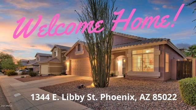 1344 E Libby Street, Phoenix, AZ 85022 (MLS #6097005) :: Brett Tanner Home Selling Team