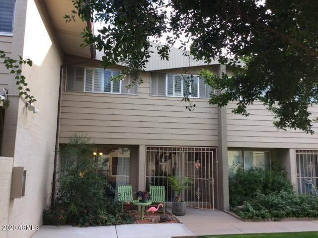 815 N Hayden Road A14, Scottsdale, AZ 85257 (MLS #6097097) :: Brett Tanner Home Selling Team