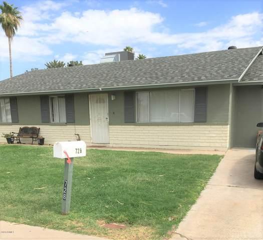 728 W Edgewood Avenue, Mesa, AZ 85210 (MLS #6098162) :: Riddle Realty Group - Keller Williams Arizona Realty