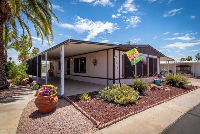 8103 E Southern Avenue #212, Mesa, AZ 85209 (MLS #6098756) :: Brett Tanner Home Selling Team