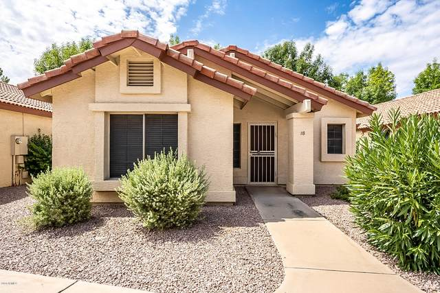 1120 N Val Vista Drive #18, Gilbert, AZ 85234 (MLS #6098942) :: The Carin Nguyen Team