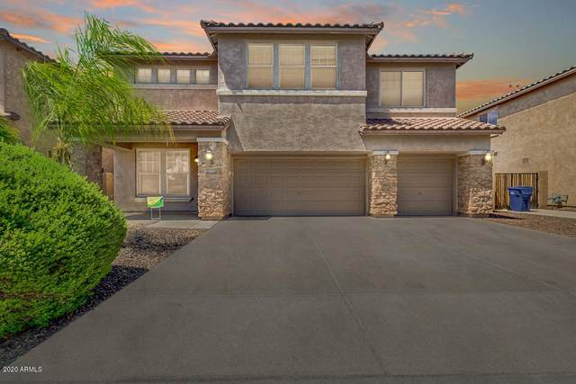 10906 E Storia Avenue, Mesa, AZ 85212 (MLS #6100611) :: Homehelper Consultants