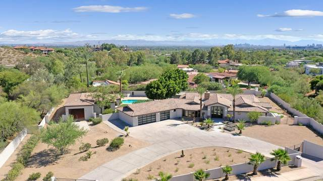 3865 E Lincoln Drive, Paradise Valley, AZ 85253 (MLS #6100632) :: The W Group