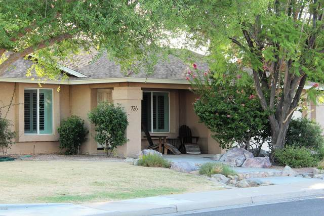 726 W Los Lagos Vista Avenue, Mesa, AZ 85210 (MLS #6101184) :: The Laughton Team