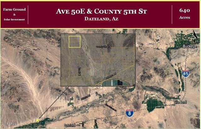 000 Ave 50E & Co 5th Street, Dateland, AZ 85333 (MLS #6101855) :: Klaus Team Real Estate Solutions