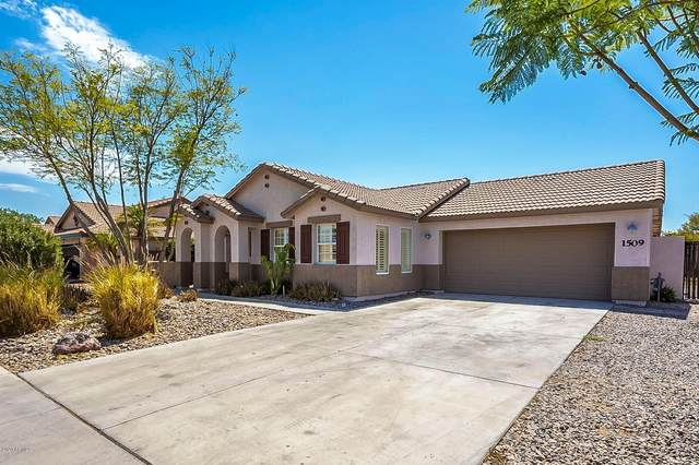 1509 N Poppy Street, Casa Grande, AZ 85122 (MLS #6101978) :: Yost Realty Group at RE/MAX Casa Grande