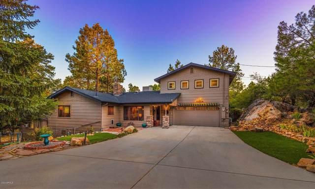 1301 W Sylvan Drive, Prescott, AZ 86305 (MLS #6102023) :: Service First Realty