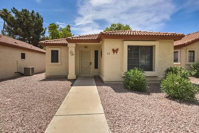 1120 N Val Vista Drive #85, Gilbert, AZ 85234 (MLS #6102096) :: Long Realty West Valley