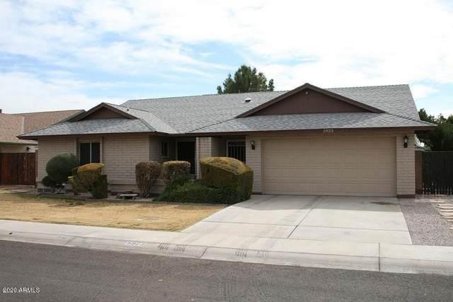 5923 W Garden Drive, Glendale, AZ 85304 (MLS #6102552) :: Maison DeBlanc Real Estate