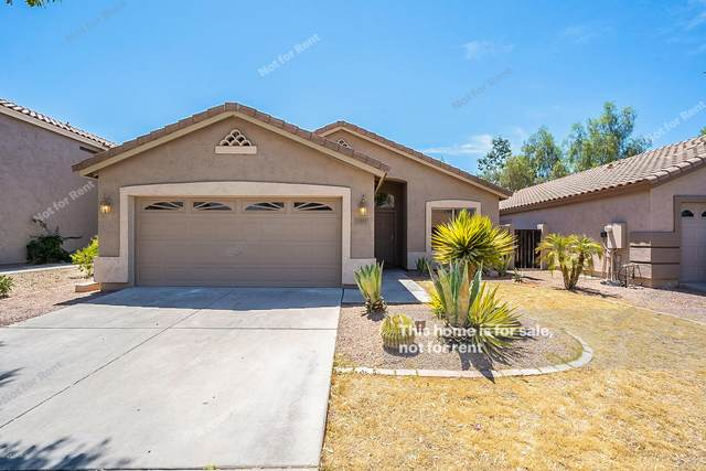 1272 S Heritage Drive, Gilbert, AZ 85296 (MLS #6102674) :: Long Realty West Valley