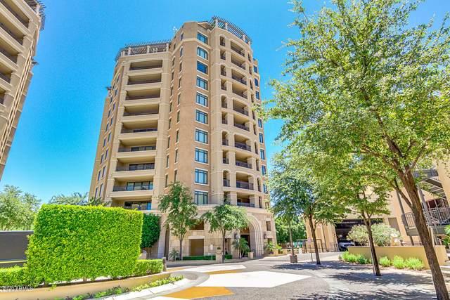 7175 E Camelback Road #607, Scottsdale, AZ 85251 (MLS #6104600) :: Brett Tanner Home Selling Team