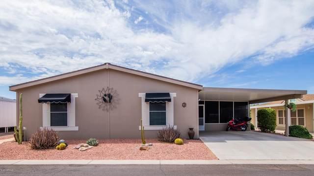 2208 W Baseline Avenue #69, Apache Junction, AZ 85120 (MLS #6105048) :: Brett Tanner Home Selling Team