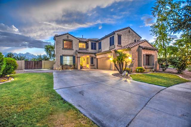 4552 S Star Canyon Drive, Gilbert, AZ 85297 (MLS #6105079) :: Homehelper Consultants