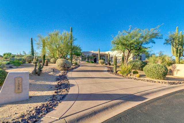 7598 E Tranquil Place, Carefree, AZ 85377 (MLS #6106013) :: Riddle Realty Group - Keller Williams Arizona Realty