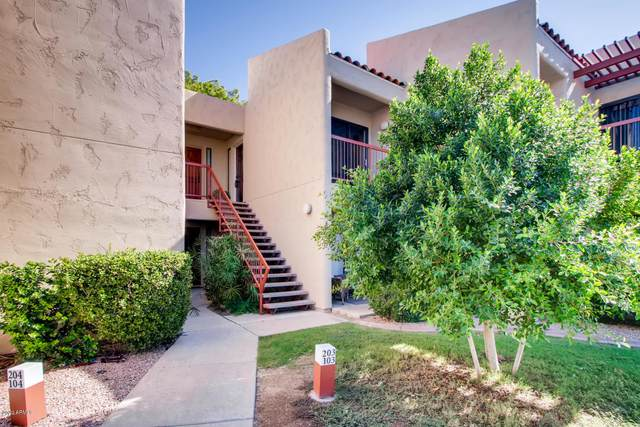 9345 N 92nd Street #203, Scottsdale, AZ 85258 (MLS #6107395) :: Brett Tanner Home Selling Team