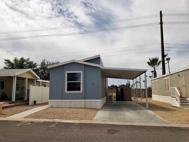 201 S Greenfield Road #288, Mesa, AZ 85206 (MLS #6107824) :: Brett Tanner Home Selling Team