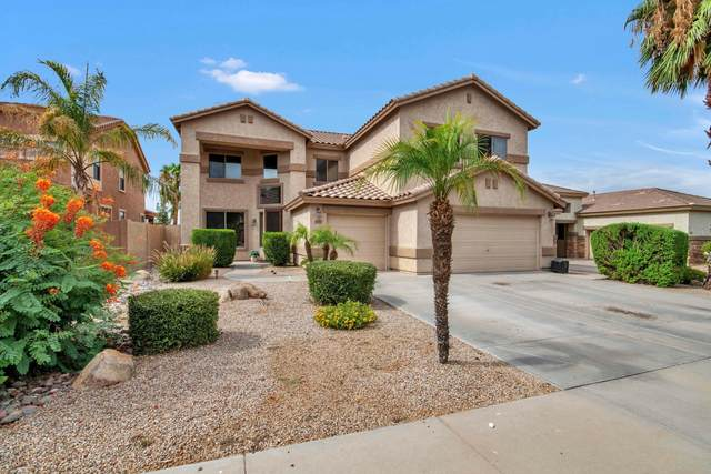 10743 E Medina Avenue, Mesa, AZ 85209 (MLS #6107994) :: The Laughton Team