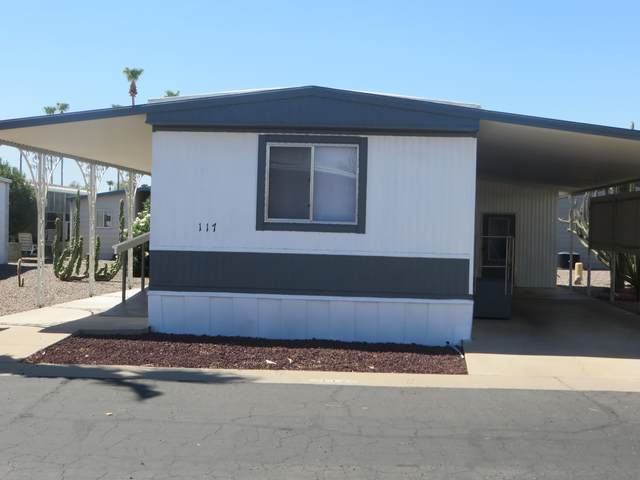205 S Higley Road #117, Mesa, AZ 85206 (MLS #6108692) :: Brett Tanner Home Selling Team