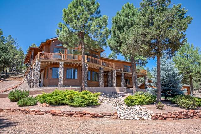 1755 Canyon Trail, Heber, AZ 85928 (MLS #6110386) :: The Bill and Cindy Flowers Team