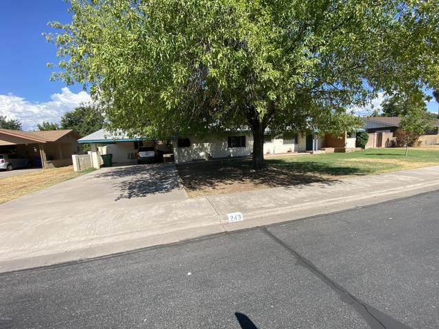 243 N Fraser Drive W, Mesa, AZ 85203 (MLS #6110653) :: The Bill and Cindy Flowers Team