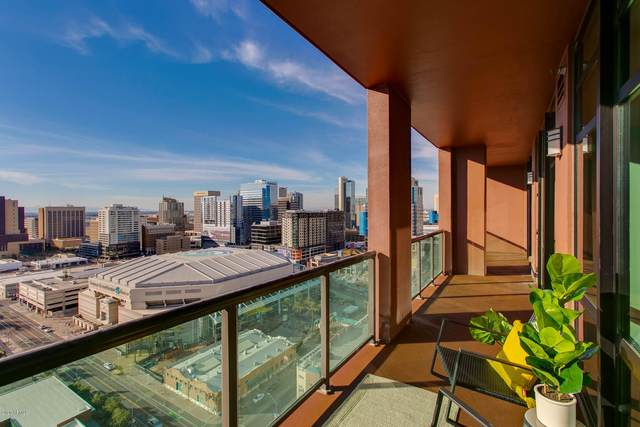 310 S 4TH Street #2102, Phoenix, AZ 85004 (MLS #6110654) :: Howe Realty