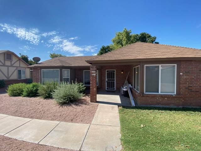 1055 N Recker Road #1222, Mesa, AZ 85205 (MLS #6111360) :: The Laughton Team