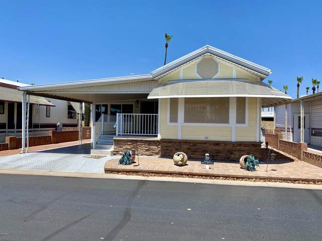 7750 E Broadway Road #681, Mesa, AZ 85208 (MLS #6111743) :: The Daniel Montez Real Estate Group