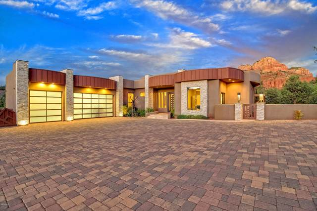 180 Cathedral Rock Trail, Sedona, AZ 86336 (MLS #6112012) :: The Laughton Team