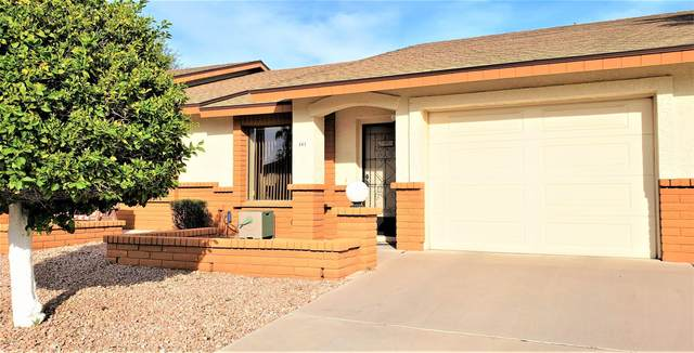 2105 S Zinnia #461, Mesa, AZ 85209 (MLS #6112276) :: Lux Home Group at  Keller Williams Realty Phoenix